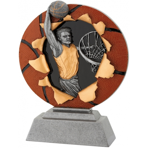 3D Figür 12x16 Basketbol