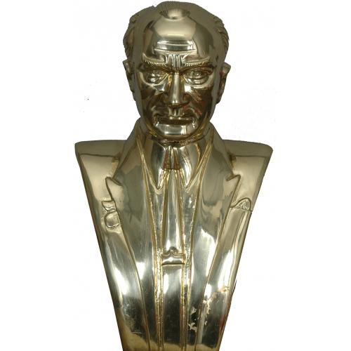 Alüminyum Büst (Altın Sarısı) 70 cm