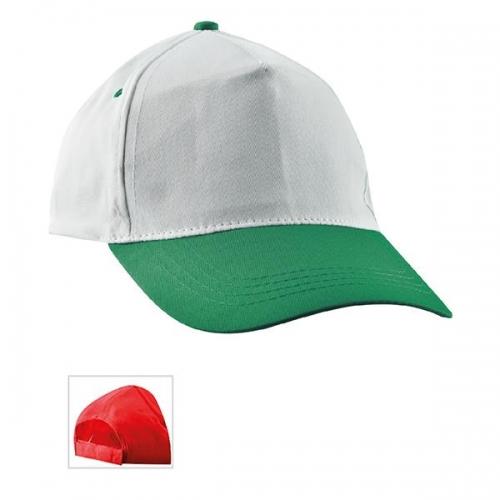 Çift Renkli Yeşil Şapka