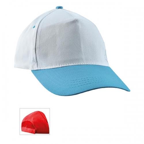 Çift Rekli Mavi Şapka