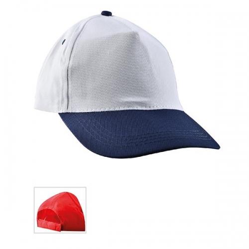 Çift Renkli Lacivert Şapka