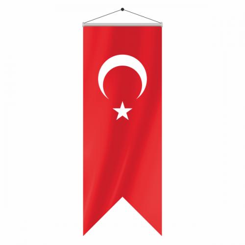 Kırlangıç Türk Bayrak 100x400