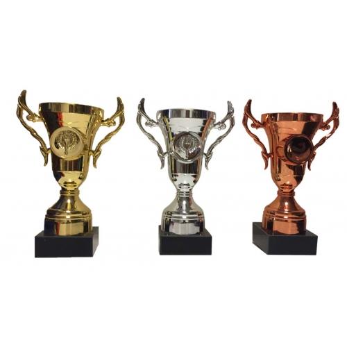 Eko Kupa 12,5 cm Altın,Gümüş,Bronz