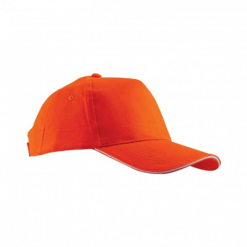 Çift Panelli Turuncu Şapka