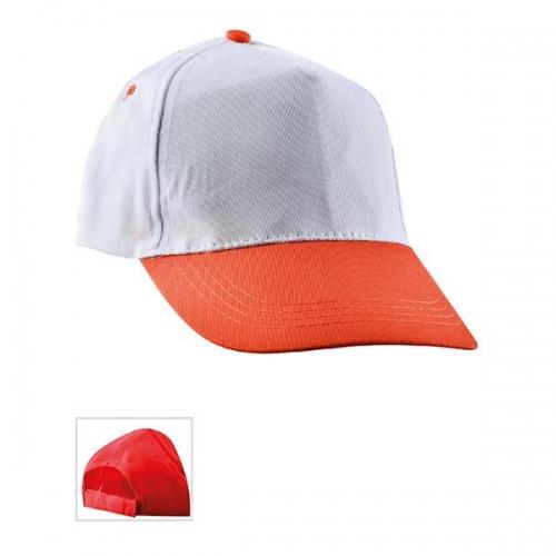 Çift Renkli Turuncu Şapka