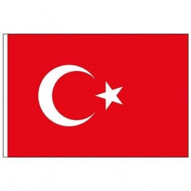 80-120 Alpaka Türk Bayrağı