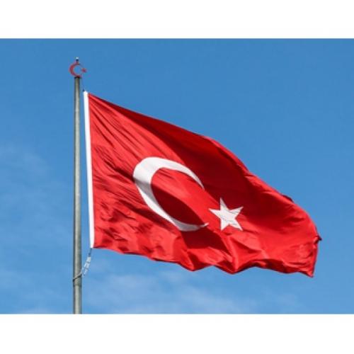 Türk Bayrağı 150x225 Çift Kat Saten
