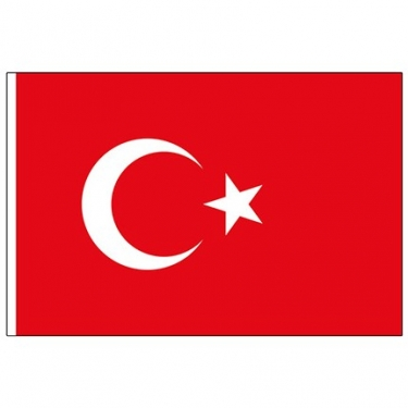 50-70 Alpaka Türk Bayrağı