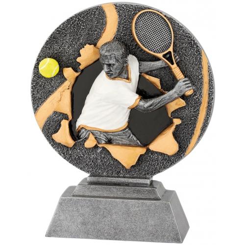 3D Figür 12x16 Erkek Tenis