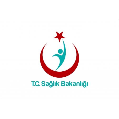 Sağlık Bakanlığı Logolu Bayrak 70x105