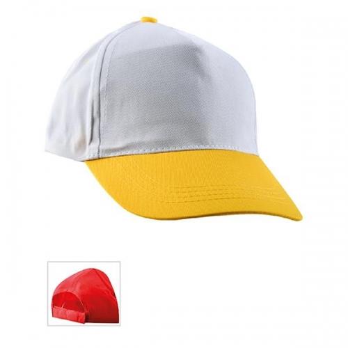 Çift Renkli Sarı Şapka
