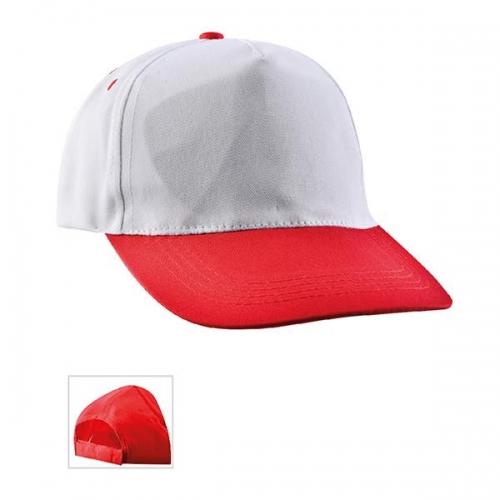 Çift Renkli Kırmızı Şapka